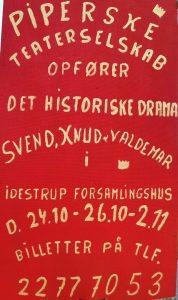 PIPERSKE TEATERSELSKAB @ Idestrup Forsamlingshus